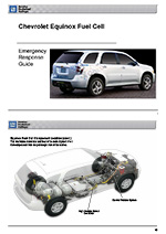 Chevy Fuel Cell EV Emergency Response Guide