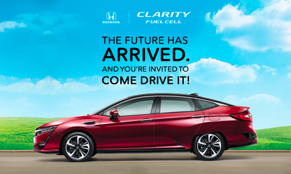 Honda Clarity Fuel Cell Drive Event