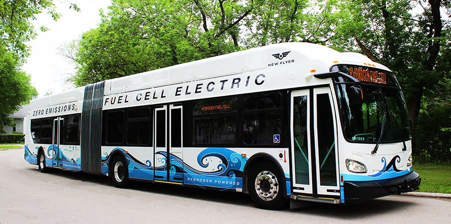 New Flyer Fuel Cell Bus 2018
