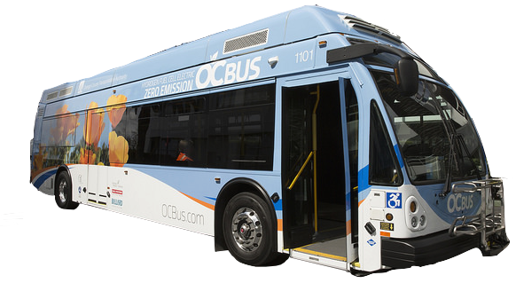 Orange County Transit Association Fuel Cell Electric Bus