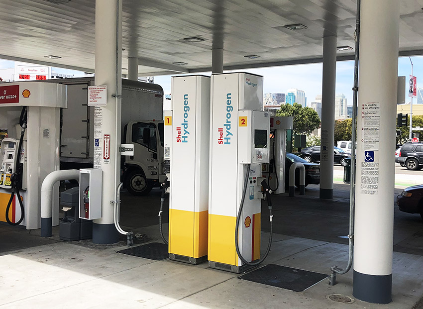 Shell San Francisco Harrison Street Hydrogen Station Picture
