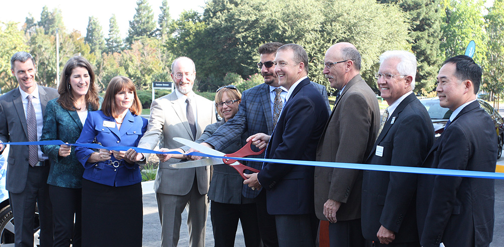 San Ramon Hydrogen Station Ribbon Cutting October 10, 2017