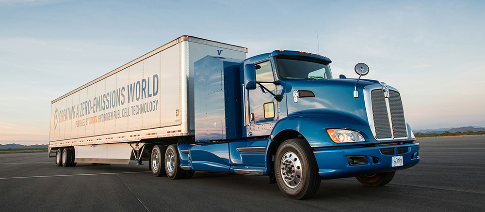 Toyota Project Portal fuel cell truck