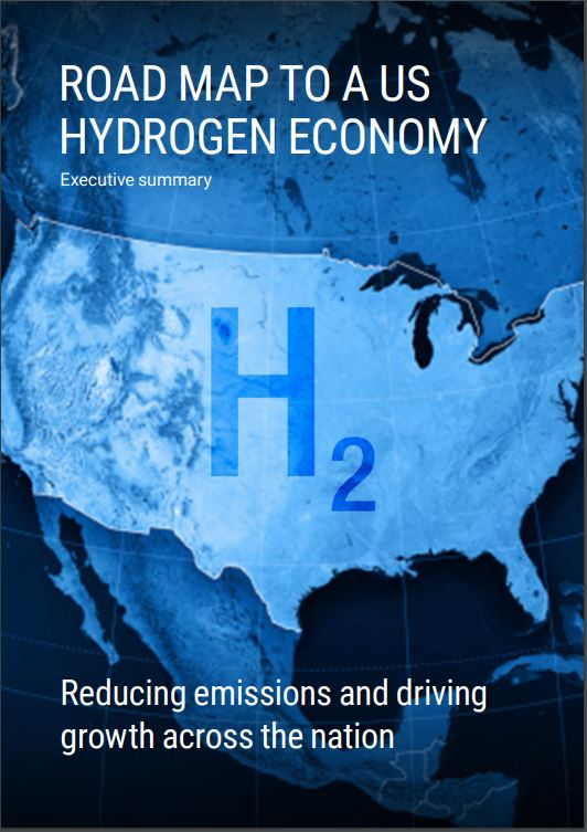 Road Map to a US Hydrogen Economy Cover