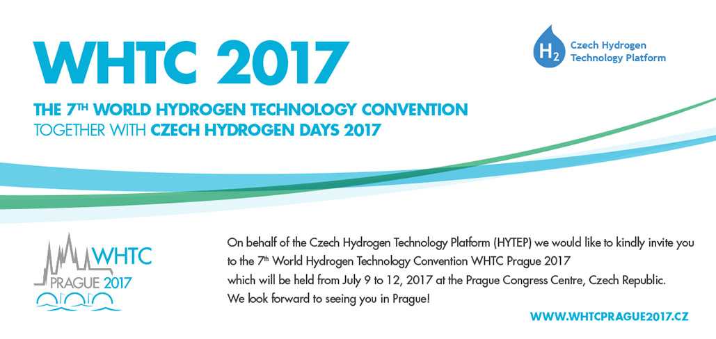 World Hydrogen Technology Convention 2017 - Prague