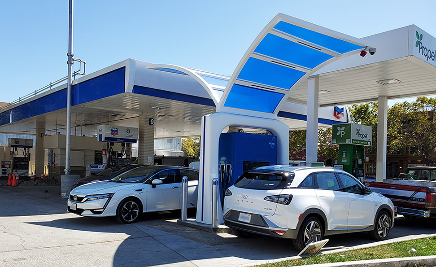 Oakland hydrogen station - True Zero