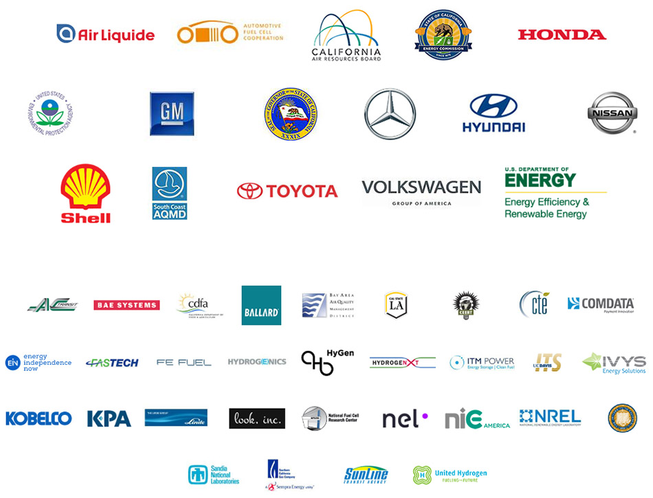 California Fuel Cell Partnership members May 9, 2018