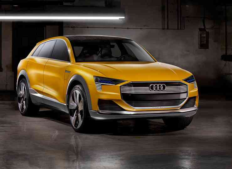 Audi H-Tron Quattro fuel cell vehicle