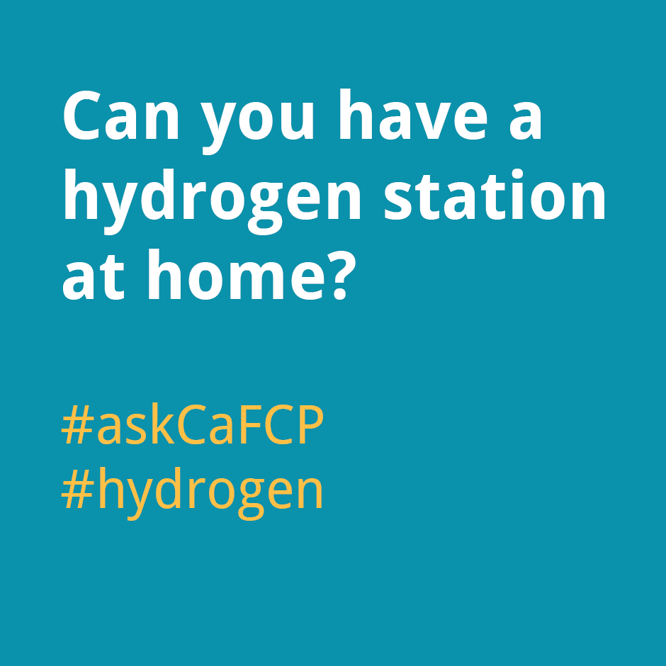Can you have a hydrogen station at home?