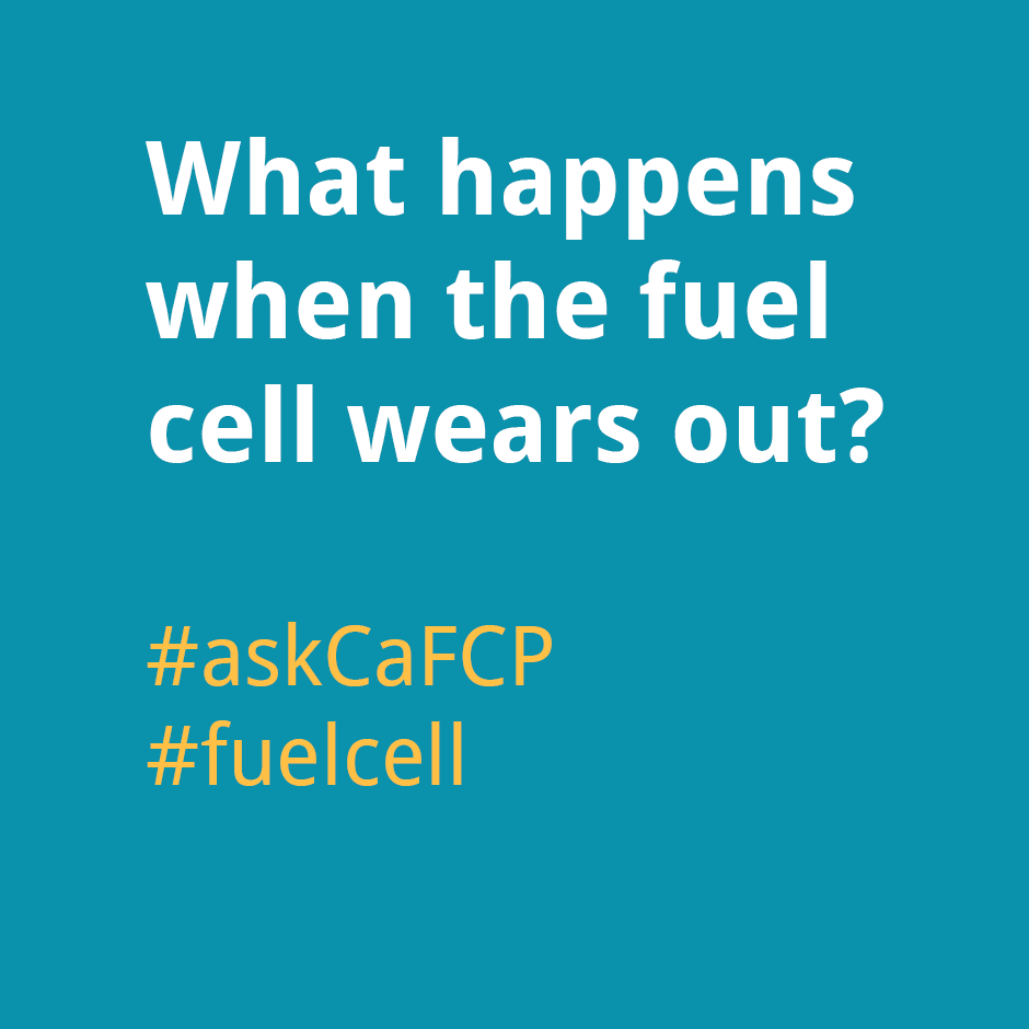 What happens when the fuel cell wears out?