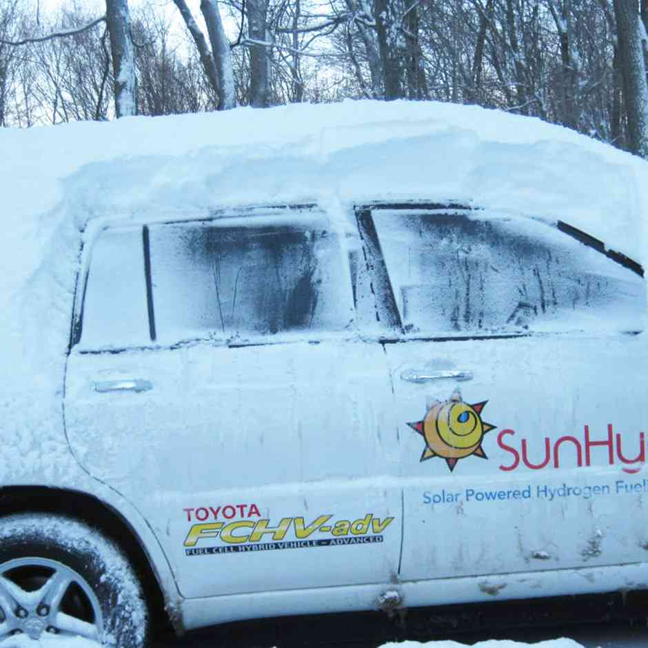 Vehicle can operate in sub-zero temperatures and desert conditions…and everywhere in between