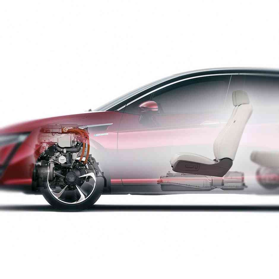 Electric motor and drive train—quiet, smooth and powerful