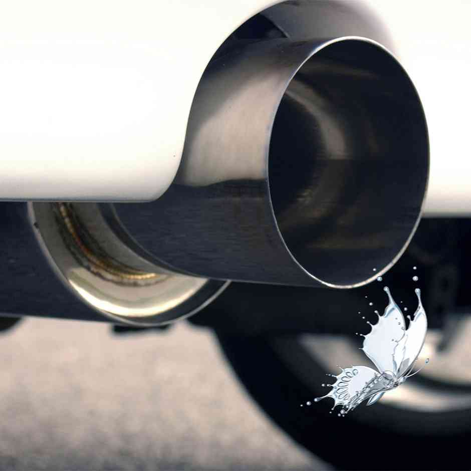 Zero tailpipe emissions—just a little water vapor