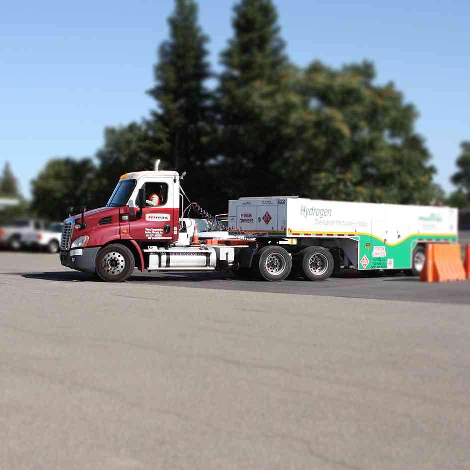 Hydrogen is transported safely through 700 miles of US pipelines and 70 million gallons of liquid hydrogen is transported annually by truck over US highways without major incident